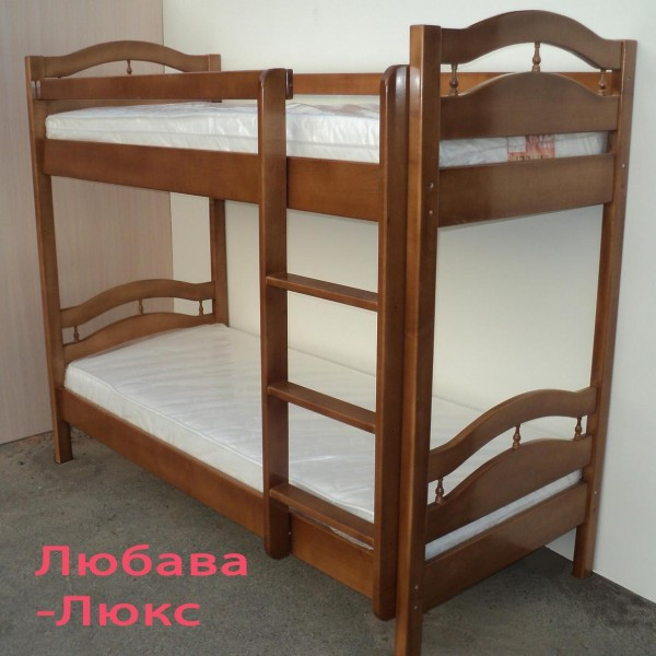Кровать двухъярусная Любава Люкс