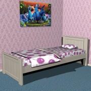 Кровать односпальна ВУЛЬФ1